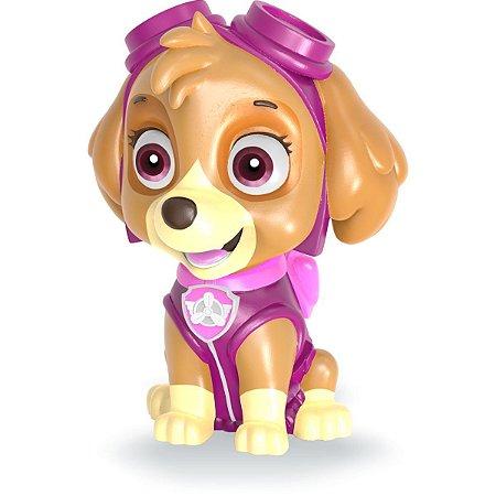 Brinquedo Diverso Patrulha Canina Skye Cofrinho Lider