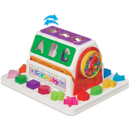 Brinquedo Educativo Gira Baby C/blocos Merco Toys