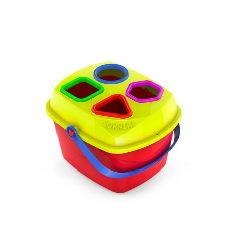 Brinquedo Educativo Maletuxo Didático C/formas Geo Cardoso Toys