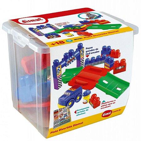 Brinquedo Educativo Pista Divertida 26Pcs Dismat