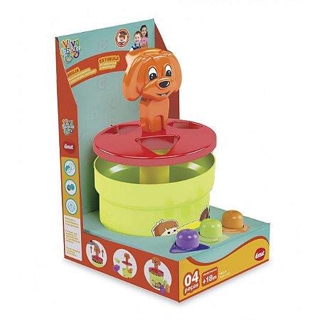 Brinquedo Educativo Puxa E Cai C/4Pecas Dismat