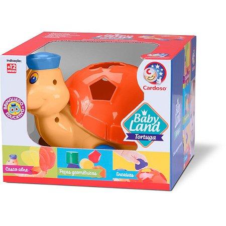 Brinquedo Educativo Tortuga Baby Land Sortidos Cardoso Toys