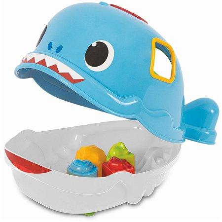 Brinquedo Para Bebê Bebe Jack Tubarao Merco Toys