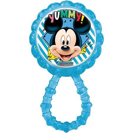 Brinquedo Para Bebê Chocalho Mordedor Mickey Baby Babygo