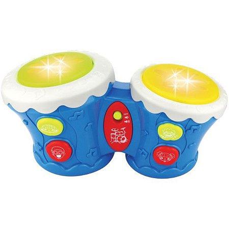 Brinquedo Para Bebê Tamboreto Baby Rf665 Toy Mix