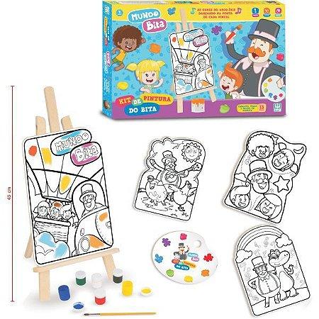 Brinquedo Para Colorir Mundo Bita Kit De Pintura Brinquedos Nig