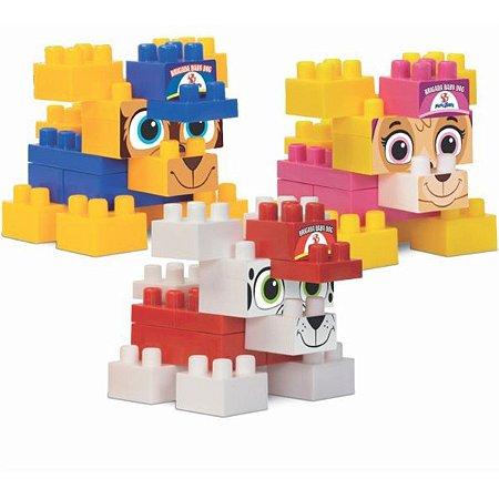 Brinquedo Para Montar Brigada Baby Dog 16Pcs Sortido Merco Toys