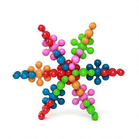Brinquedo Para Montar Star Plic 30 Pecas Estrela