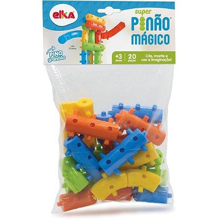 Brinquedo Para Montar Super Pinao Magico 20 Pecas Elka