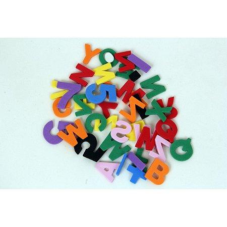Brinquedo Pedagógico Eva Alfanumerico 4Mm 160 Pecas Eduart