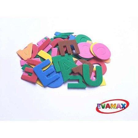 Brinquedo Pedagógico Eva Recortado Vogais 60Pc 3Cm Evamax