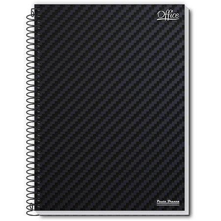 Caderno 01X1 Capa Dura 2021 Office 80Fls. Pauta Branca
