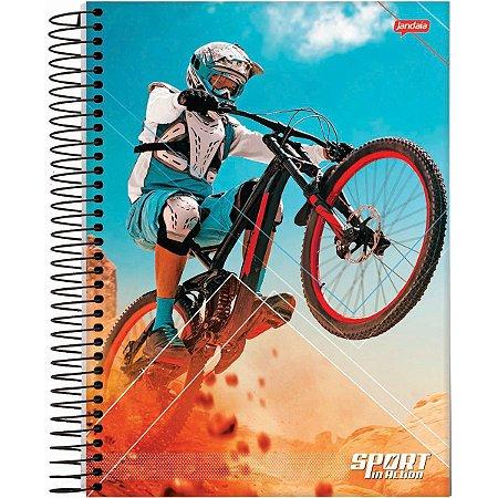 Caderno 01X1 Capa Dura 2021 Sport 80Fls. Jandaia