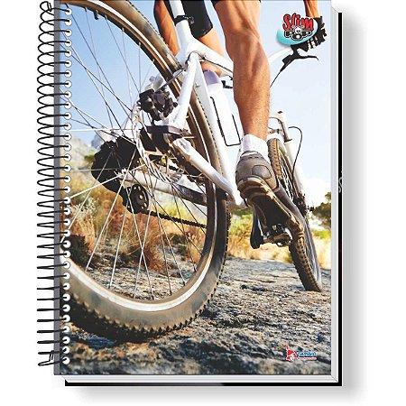 Caderno 10X1 Capa Dura 2021 Slim Pop 160F Masculino Tamoio
