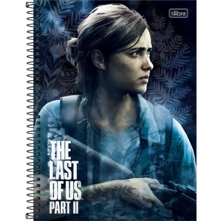 Caderno 10X1 Capa Dura 2021 The Last Of Us Part Ii 160Fls. Tilibra