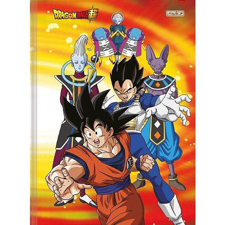 Caderno Brochurao Capa Dura Dragon Ball 80F São Domingos