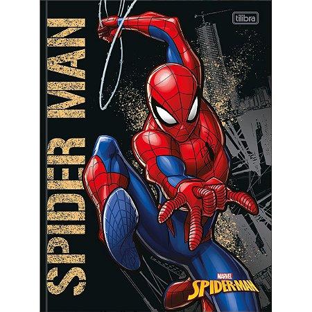 Caderno Brochurao Capa Dura Spider-Man 80Fls. Tilibra