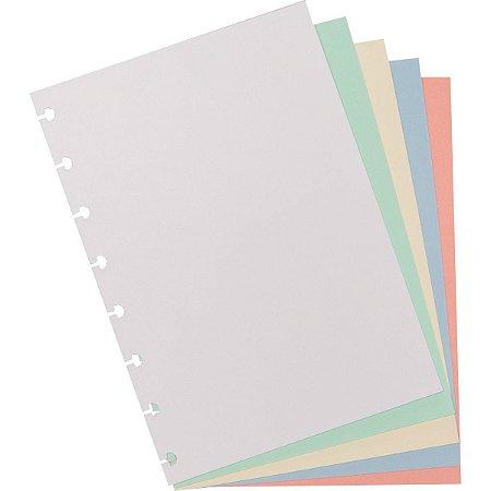 Caderno Inteligente Refil A5 Colorido 80G.50Fls. Caderno Inteligente