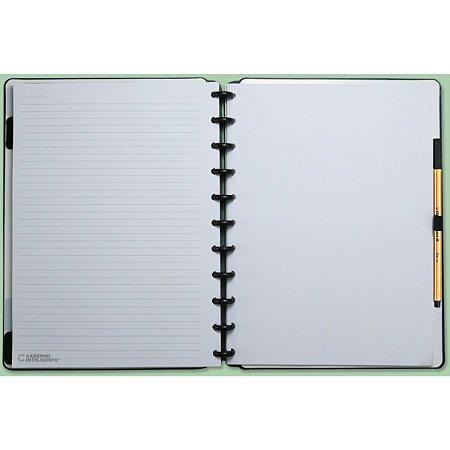 Caderno Inteligente Grande Dark Blue 80Fls. Caderno Inteligente