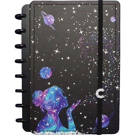 Caderno Inteligente Grande Poeira Das Entrelas 80F Caderno Inteligente