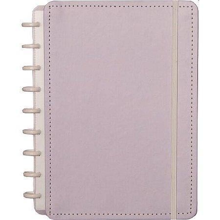 Caderno Inteligente Medio Lilas Pastel 80Fls. Caderno Inteligente