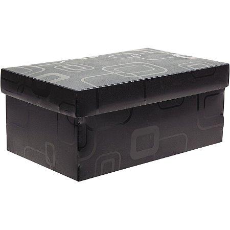 Caixa Organizadora Top Fine Sapato 28X17X12Cm.pto Dello