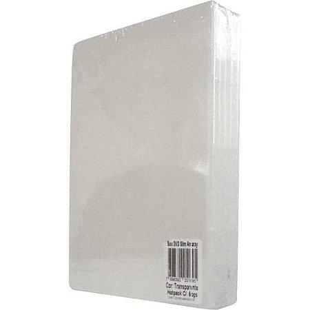 Caixa Para Dvd Slim 7Mm Transparente Tecnomidia