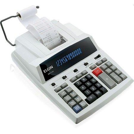 Calculadora De Impressao 14Dig.mb7142 Rel/calen/bivolt Elgin
