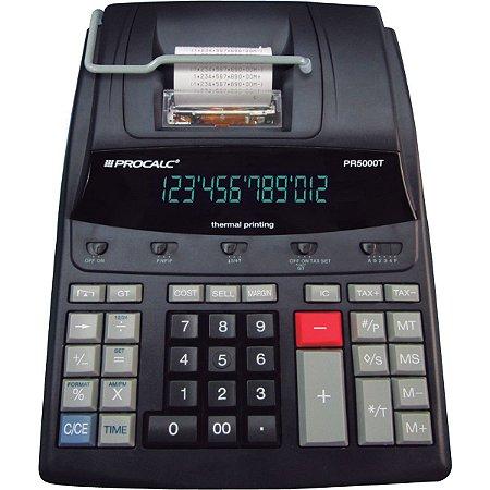 Calculadora De Impressao Térmica 12Dig.bivolt Pr 5000T Procalc