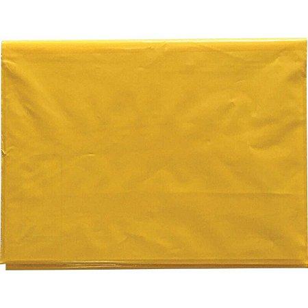 Capa Para Caderno Plástica Capa Dura Grande Amarela Plasitiban