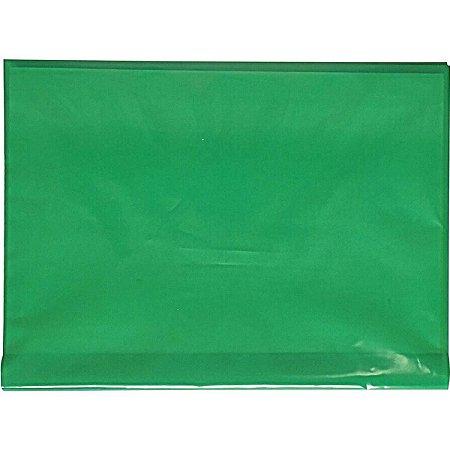 Capa Para Caderno Plástica Capa Dura Grande Verde Plasitiban
