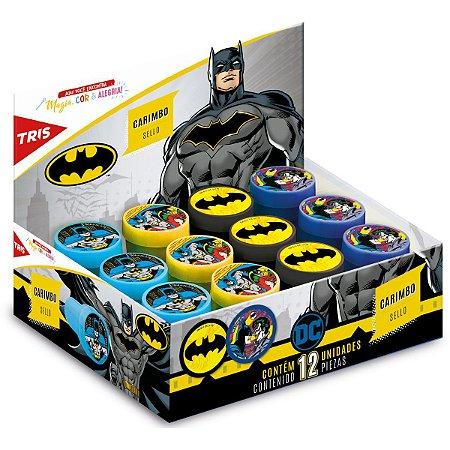 Carimbo Pedagógico Batman 4 Modelos Sortidos Summit