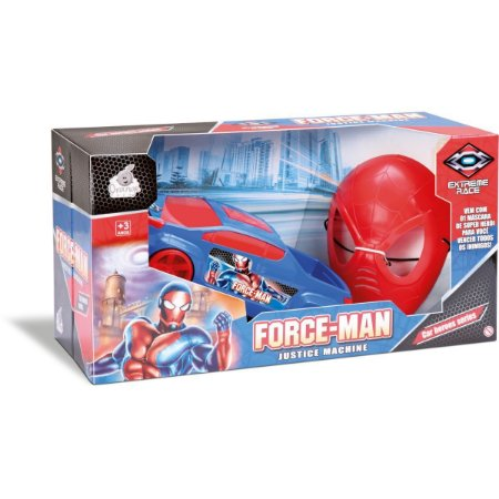 Carrinho Speed Man C/ Mascara Sortidos Orange Toys