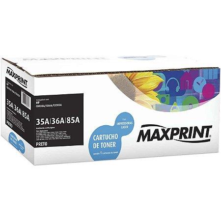 Cartucho De Toner Comp. Hp 85A Preto Maxprint