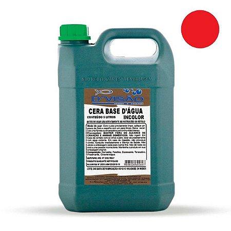Cera Liquida D Visao Base Agua Vermelha 5L D Visao