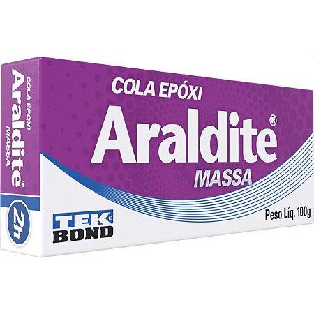 Cola De Alta Resistência Araldite Massa 100G. Tekbond