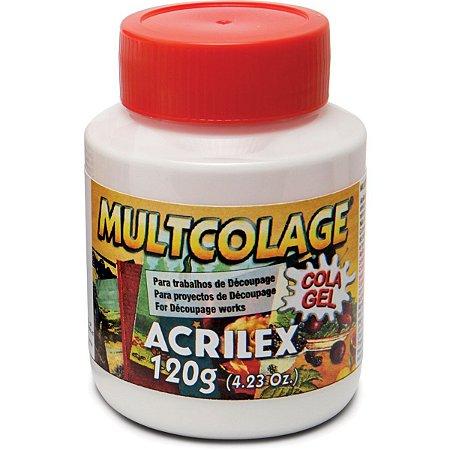 Cola Para Decoupage Multcolage 120Ml. Acrilex