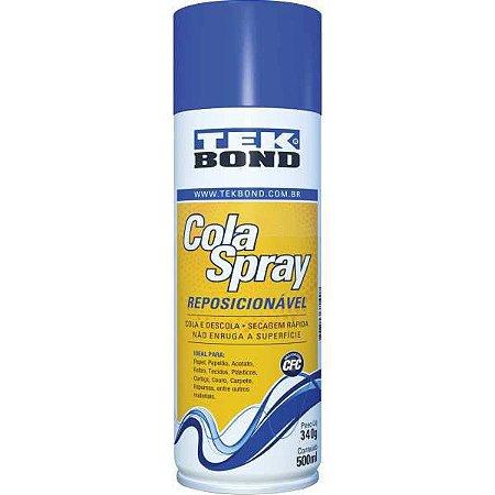 Cola Spray Reposicionavel 500Ml Tekbond