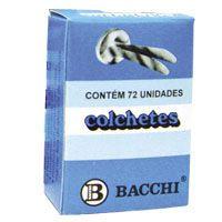 Colchete Latonados N.12 Cx.c/ 72Unid. Bacchi
