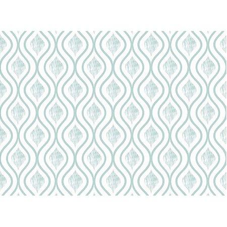 Contact Decorado 45Cmx10M Arabesco Savoy Verde Plastcover