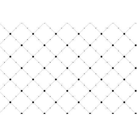 Contact Decorado 45Cmx10M Geometrico Dots Plastcover