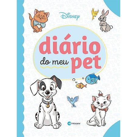 Diario Disney Diario Do Meu Pet Culturama