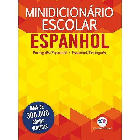 Dicionário Mini Espanhol Port. / Esp.  Nova Ortografia Ciranda
