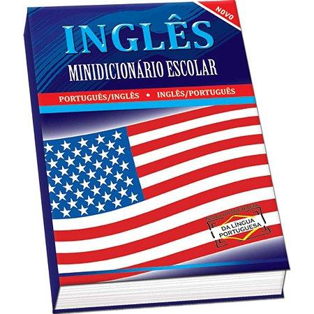 Dicionario Mini Ingles Ingles Escolar Compacto 352Pgs Vale Das Letras