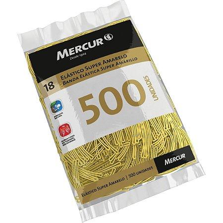 Elastico Amarelo N.18 Super 500Pcs Mercur