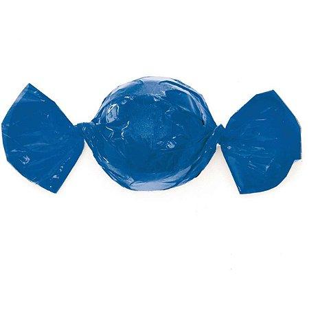 Embalagem Para Trufa/cone 15X16Cm. Azul Cromus