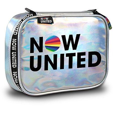Estojo Tecido Now United Holografica Clio