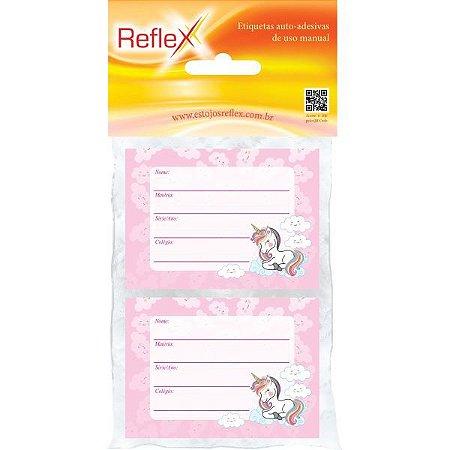 Etiqueta Escolar Decorada Feminina 53X80Cm. Reflex