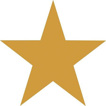 Etiqueta Lisa Com Formas Estrelinha Ouro C/210 Etiqueta Grespan