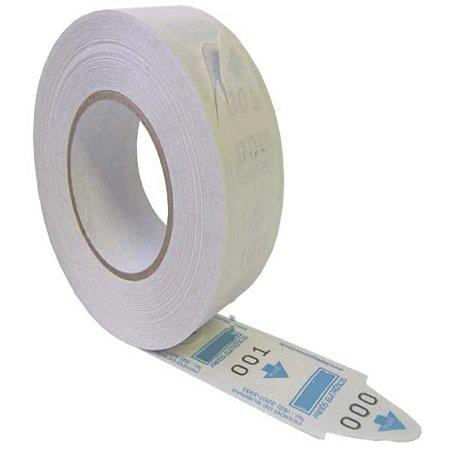 Etiqueta Para Senha Rolo 3 Digitos C/2000 Senha Pt Grespan